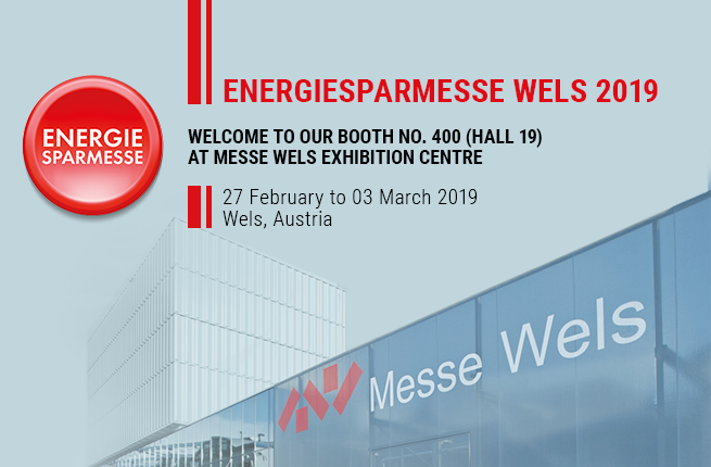 Welcome to our booth at Energiesparmesse Wels 2019