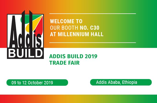 Welcome to our booth at Addis Build 2019